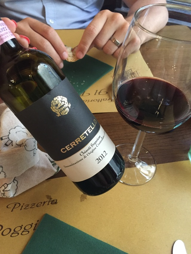 eating out in volterra chianti wine hollygoeslightly