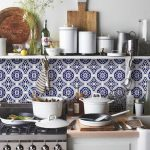 kitchen tiles inspiration blue moroccan