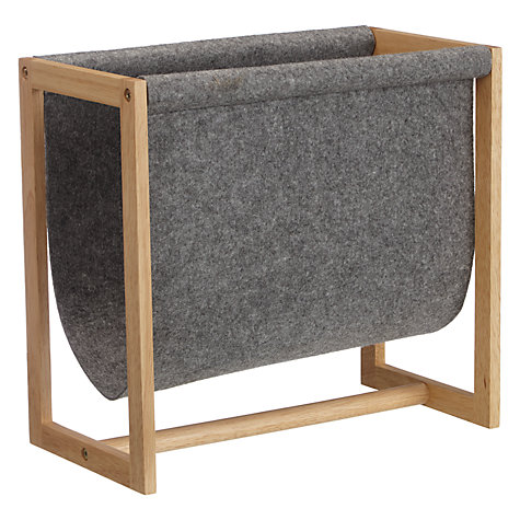 house by john lewis felt magazine rack