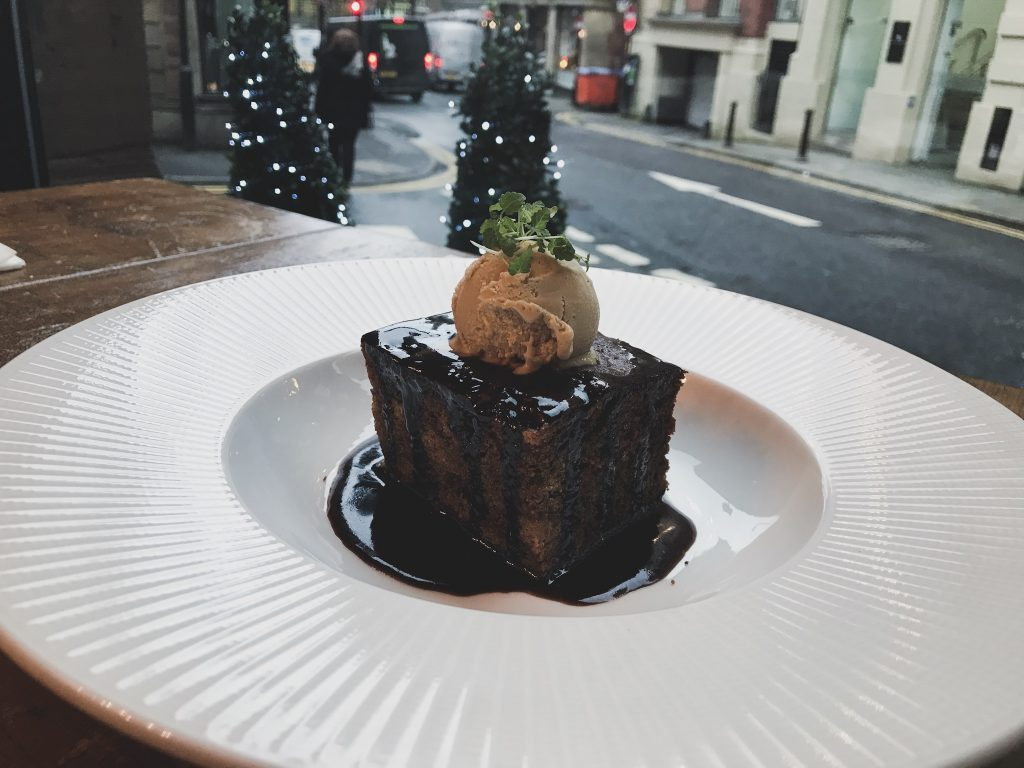 1761 manchester sticky toffee pudding